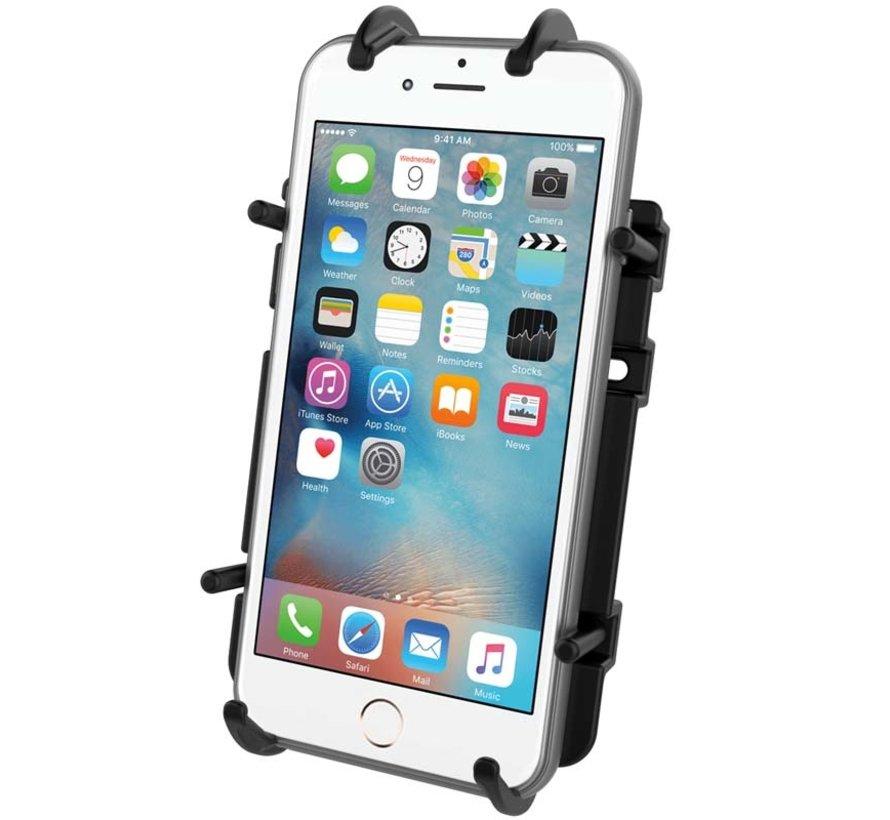 Universele Quick-Grip™ klemhouder smartphones met kogel