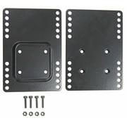 Brodit monitor Vesa 75 bevestigingsplaat met AMPS 215753