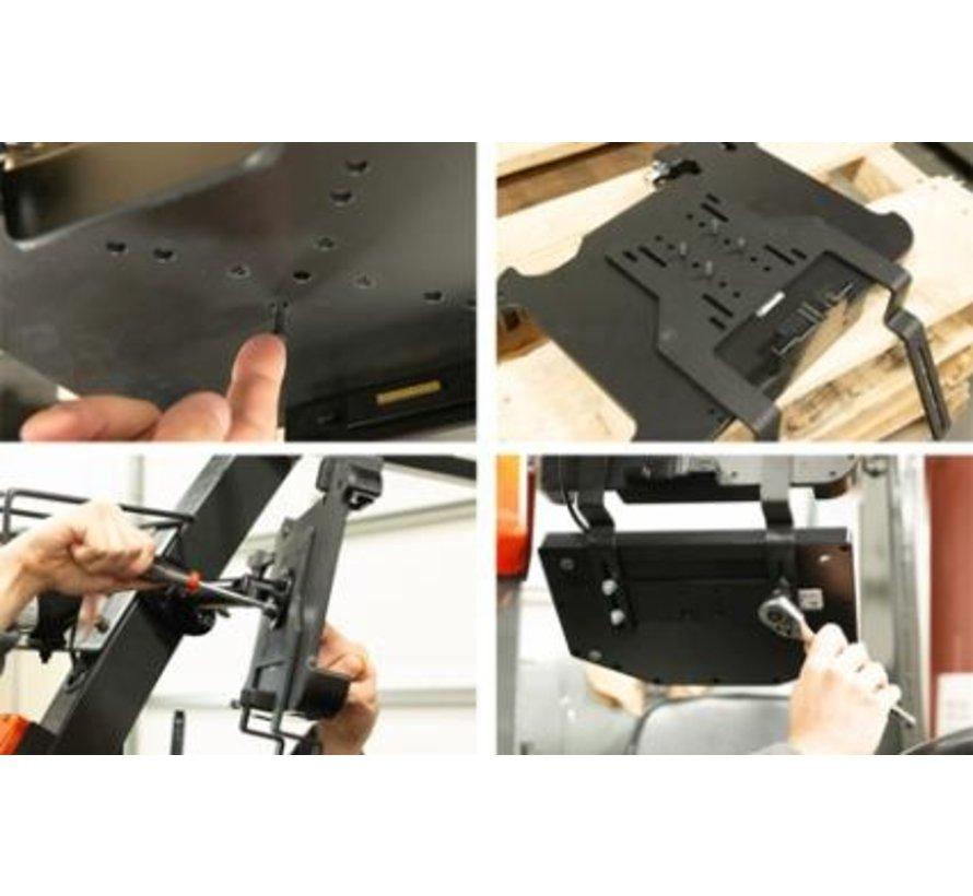 Heavy-Duty Keyboard en tablet VESA mount