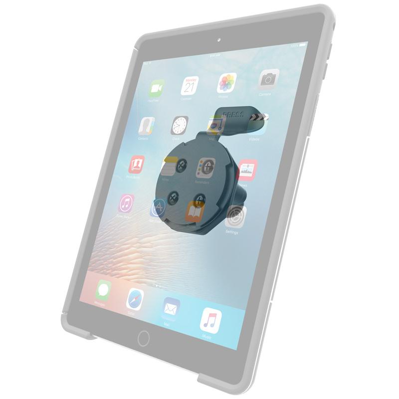RAM Mount Quick Release Adapter for OtterBox uniVERSE iPad Cases met B-kogel