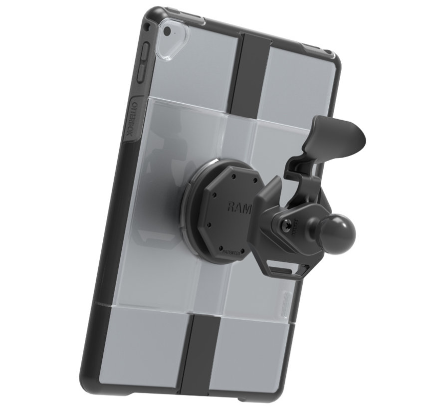 Quick Release Adapter for OtterBox uniVERSE iPad Cases met B-kogel