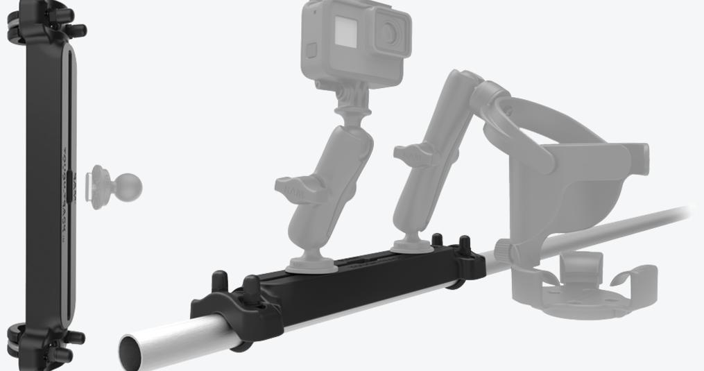 Nieuw: RAM Mounts Tough-tracks voor montage op stangen