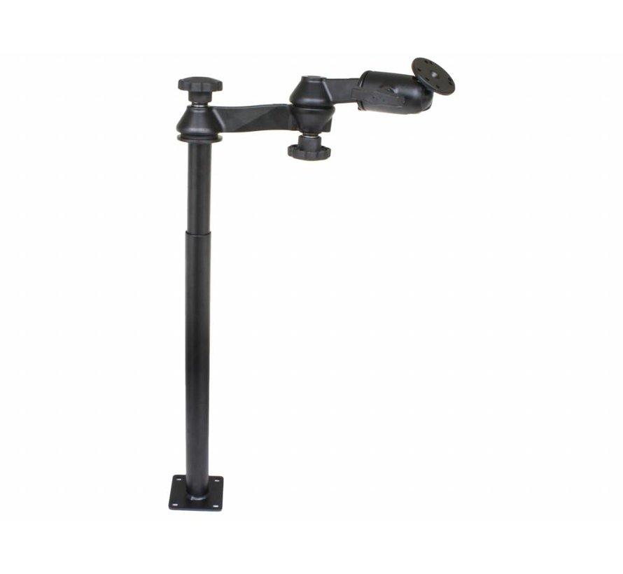 Double Swingarm  extra werkhoogte max 75 cm RAM-VP-SW1-1218