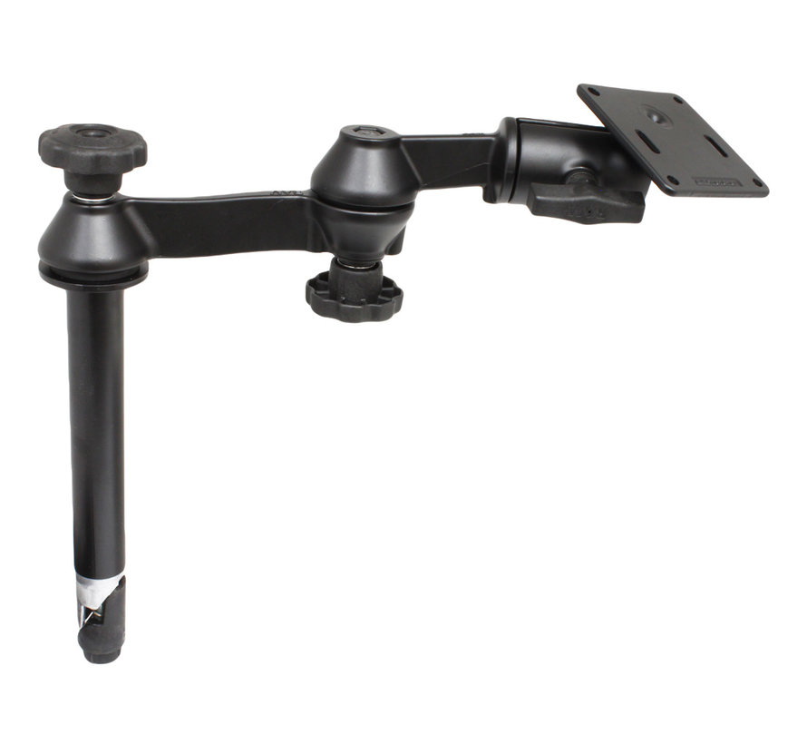 """Double Swing Arm with 8"""" Male + VESA  C-kogel  RAM-VP-SW1-8 - 2461"""