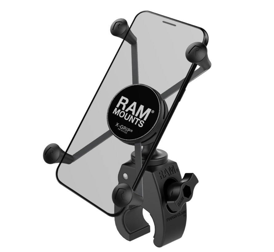 Snap-Link™ Tough- Claw™ met Large Phone X-Grip™