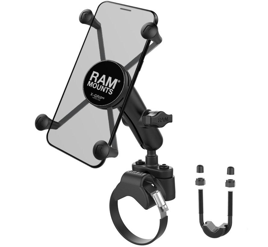 X-Grip iPhone 6/7/8 plus houder ATV Stangmontage
