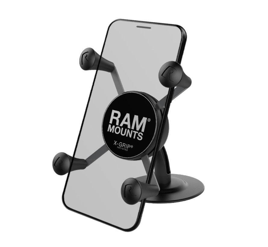 Zelfklevende X-Grip smartphone set