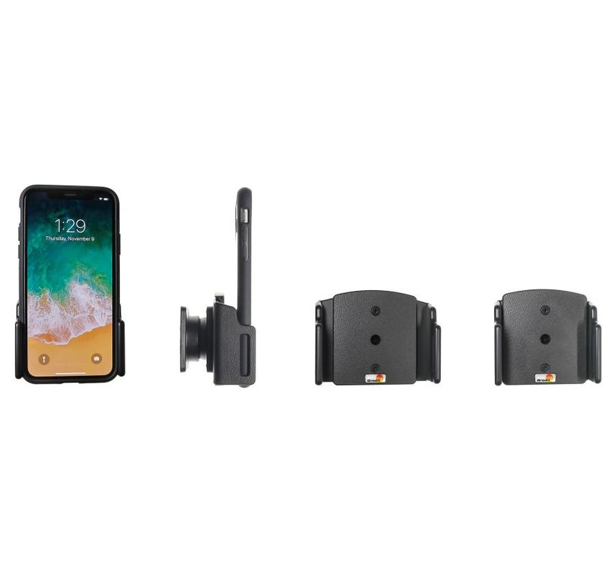houder Apple iPhone Xs/XR/11 (verstelb.) 70-83/2-10mm