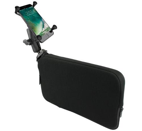 RAM Mount Seat Tough-Wedge™ met smartphone X-Grip UN10BU