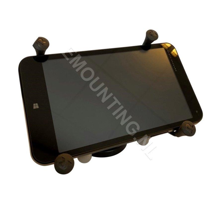 Composiet compacte schroefvaste X-Grip 7-8 inch tablet montageset