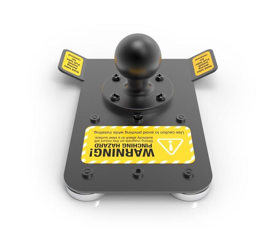 Industrial HeavyDuty Magnetic Mount - RAM C-BALL