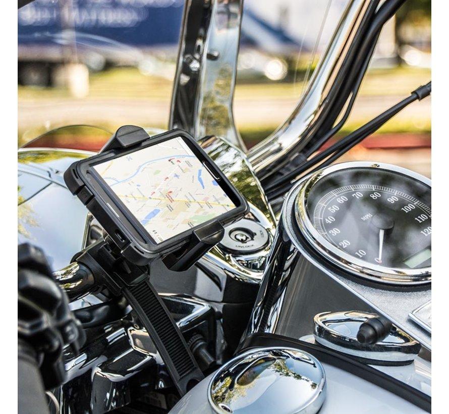 Roadvise universele smartphone houder met Stuurstangstrap
