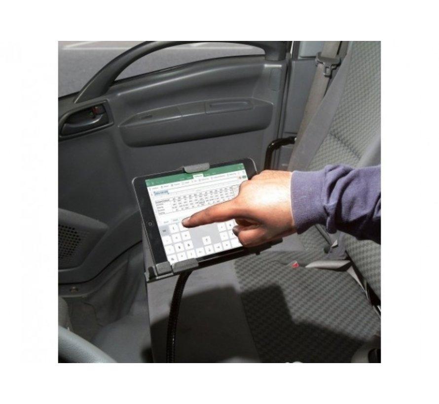 TabDock LockPro universele tablethouder Flexstatief met slot