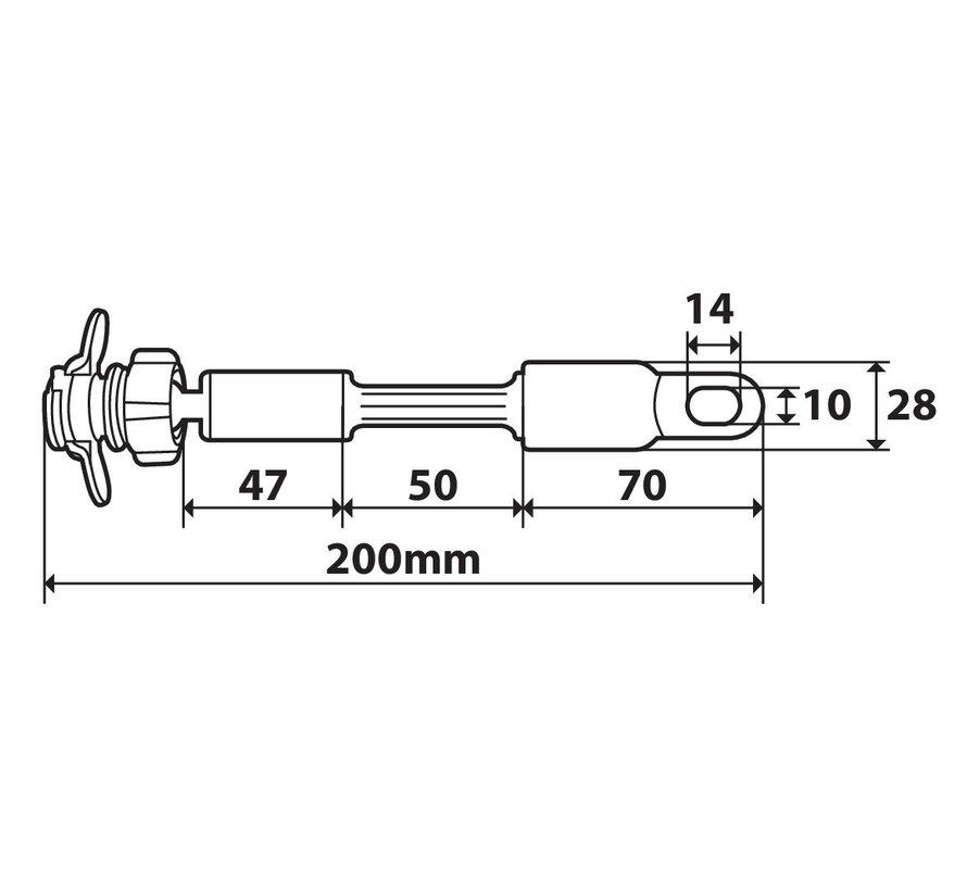 Opti-Arm DUO LOCK bevestiging scooterspiegel
