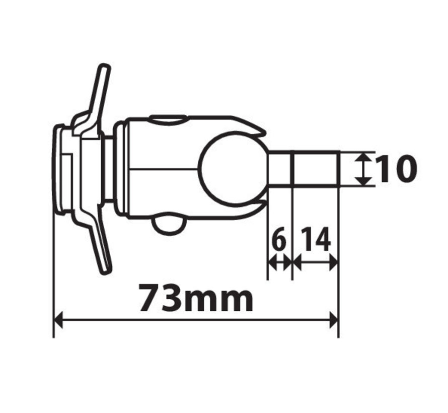 Opti-Screw DUO LOCK M6 boutmontage motor