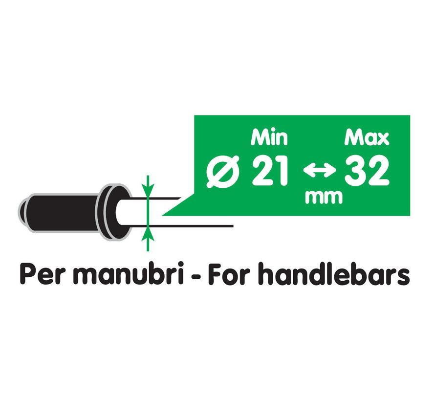 USB Fix Tube smartphone motorlader met stangmontageCopy