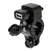 Lampa USB Fix Tube smartphone motorlader met stangmontage