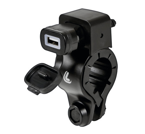 Lampa USB Fix Tube smartphone motorlader met stangmontageCopy