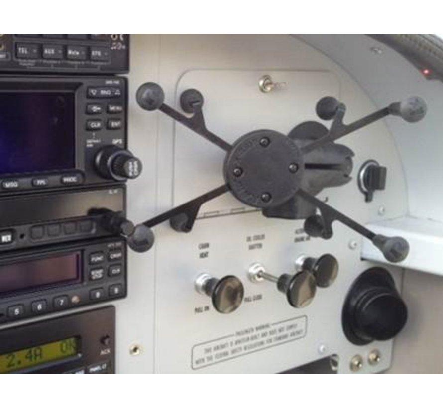 Zelfklevende X-Grip 7 inch mount