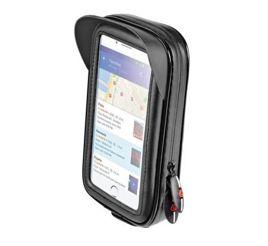 Opti-Arm scooterspiegel  mount met waterdichte smartphone case