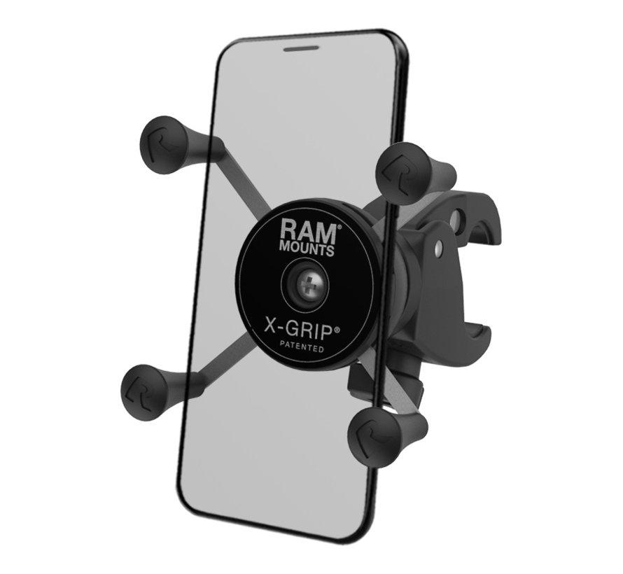 X-Grip® Phone Mount met Low-Profile RAM® Tough-Claw™