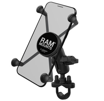 RAM Mount X-Grip large smartphone houder stuurstang set - Kort