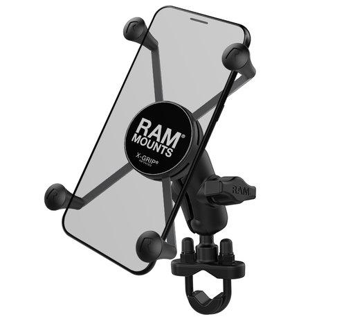 RAM Mount X-Grip large  houder stuurstang set - Kort