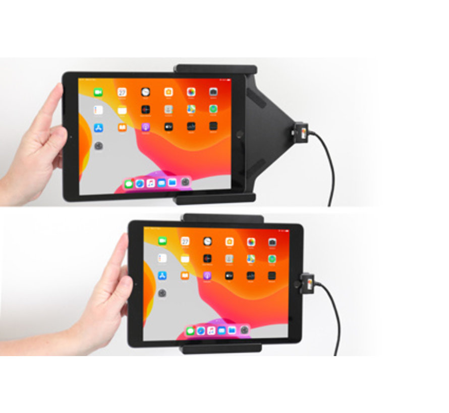houder/lader Apple iPad 10.2 (2019) USB sig.plug