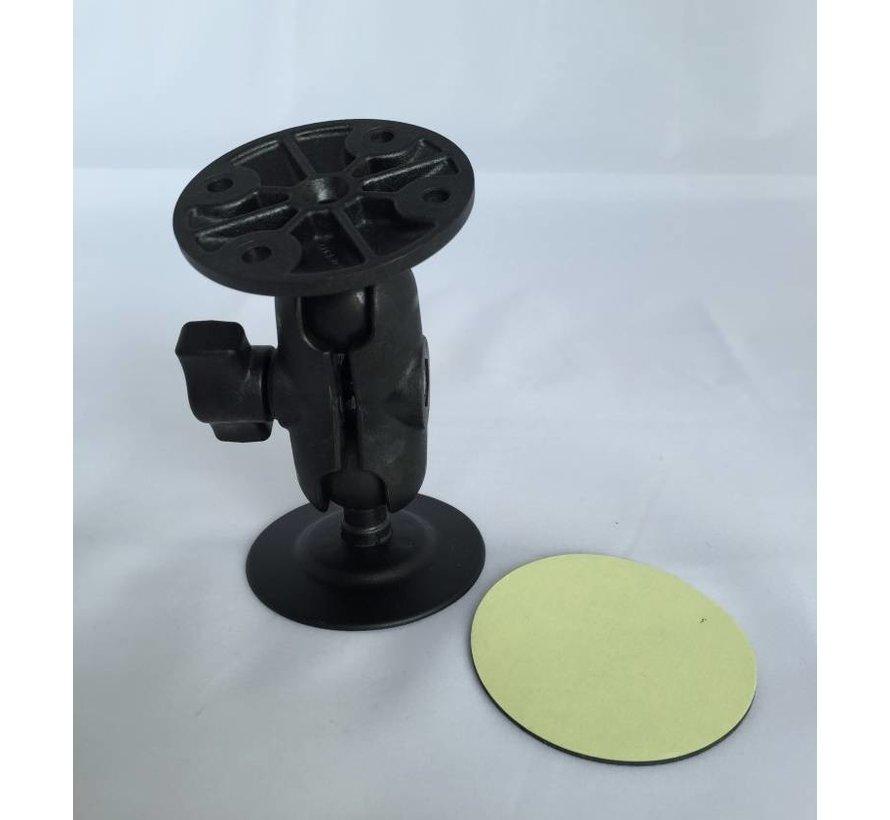 Plakkogel + korte klemhouder set RAP-B-378-A-202U