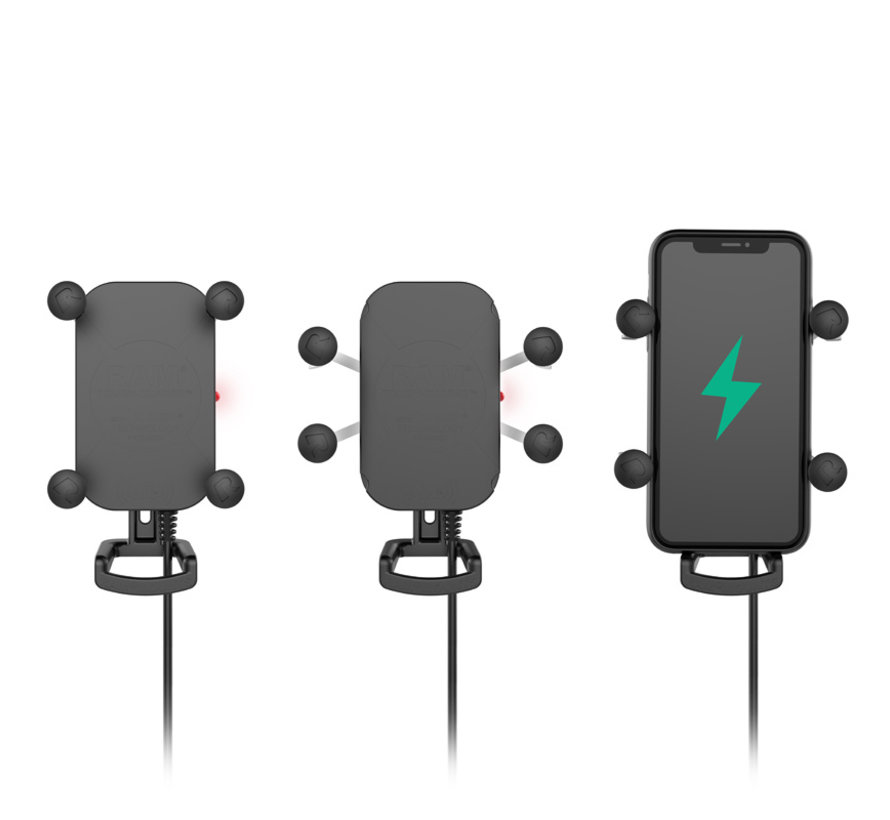 Tough-Charge™ X-Grip® Tech Waterproof Wireless Charging Houder  oplader