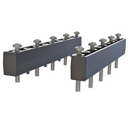 RAM Mount 1 Set Stand Off Risers for Tab-Tite, Tab-Lock and GDS™ Docks