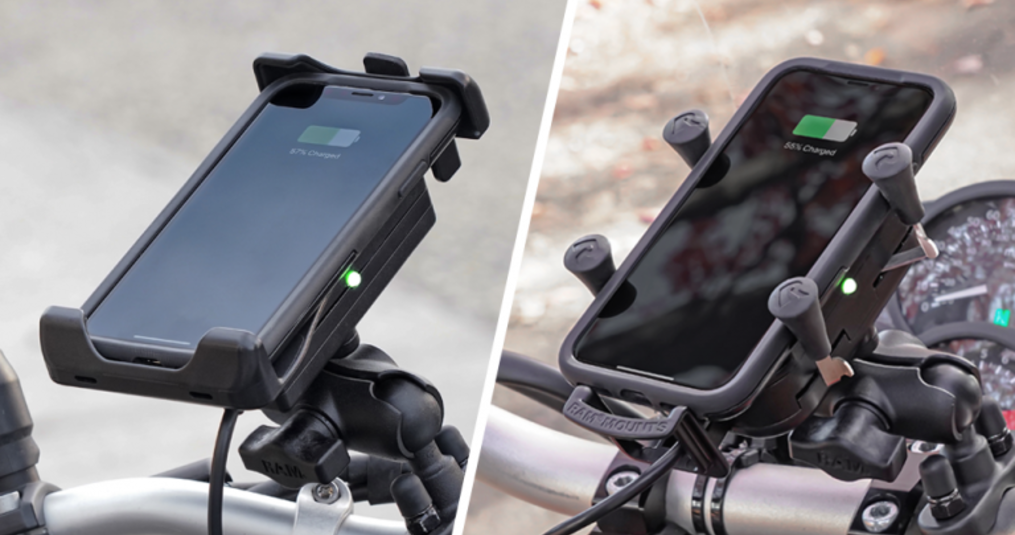 RAM MOUNTS introduceert Waterproof Wireless smartphonehouders