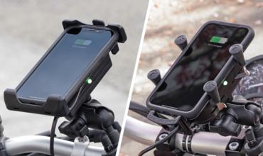RAM MOUNTS introduceert Waterproof Wireless smartphonehouders