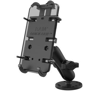 RAM Mount Quick-Grip™ klemhouder XL smartphones Schroefvaste set RAM-B-138-PD4U