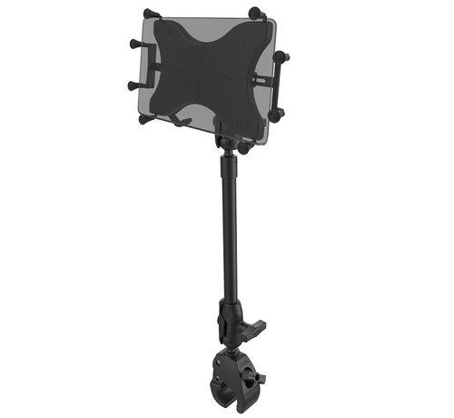 "RAM Mount X-Grip® with RAM® Tough-Claw™ 9"" Pipe Mount  voor 9""-10"" Tablets"