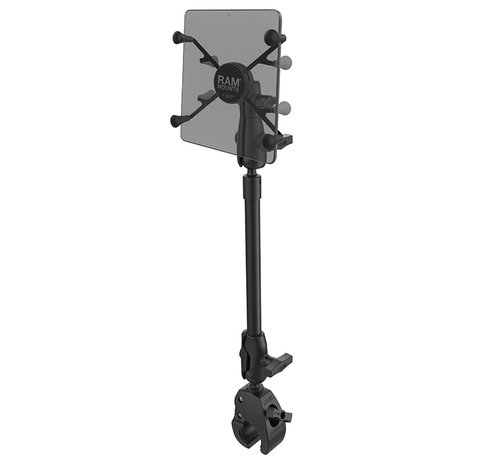 """RAM Mount X-Grip® with RAM® Tough-Claw™ 9"""" Pipe Mount  voor 7-8"""" Tablets"""