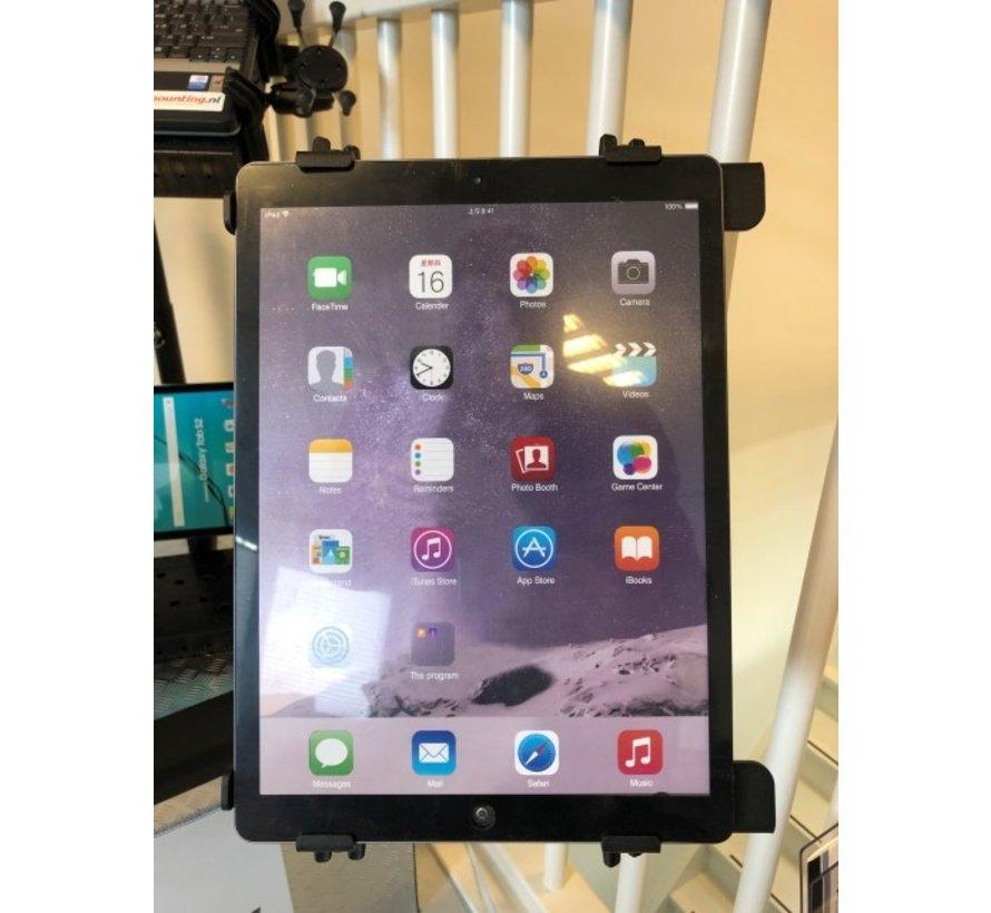 Brodit verstelbare stalen laptop & tablet houder met rugsteun