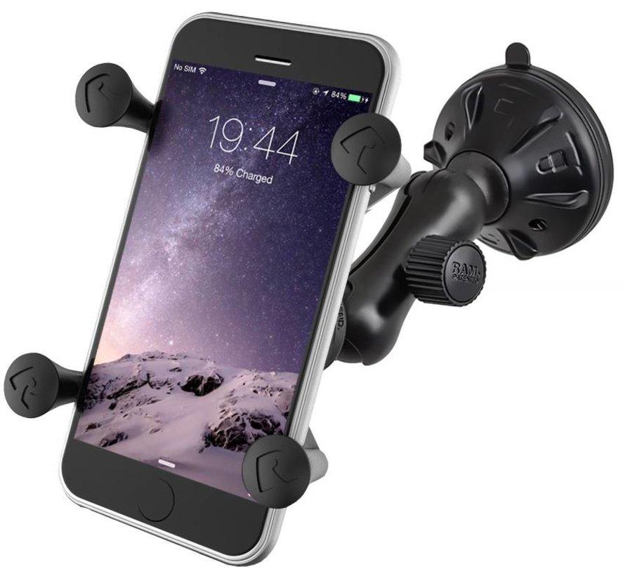 X-Grip smartphone zuignap set RAP-B-166-2-UN7BU