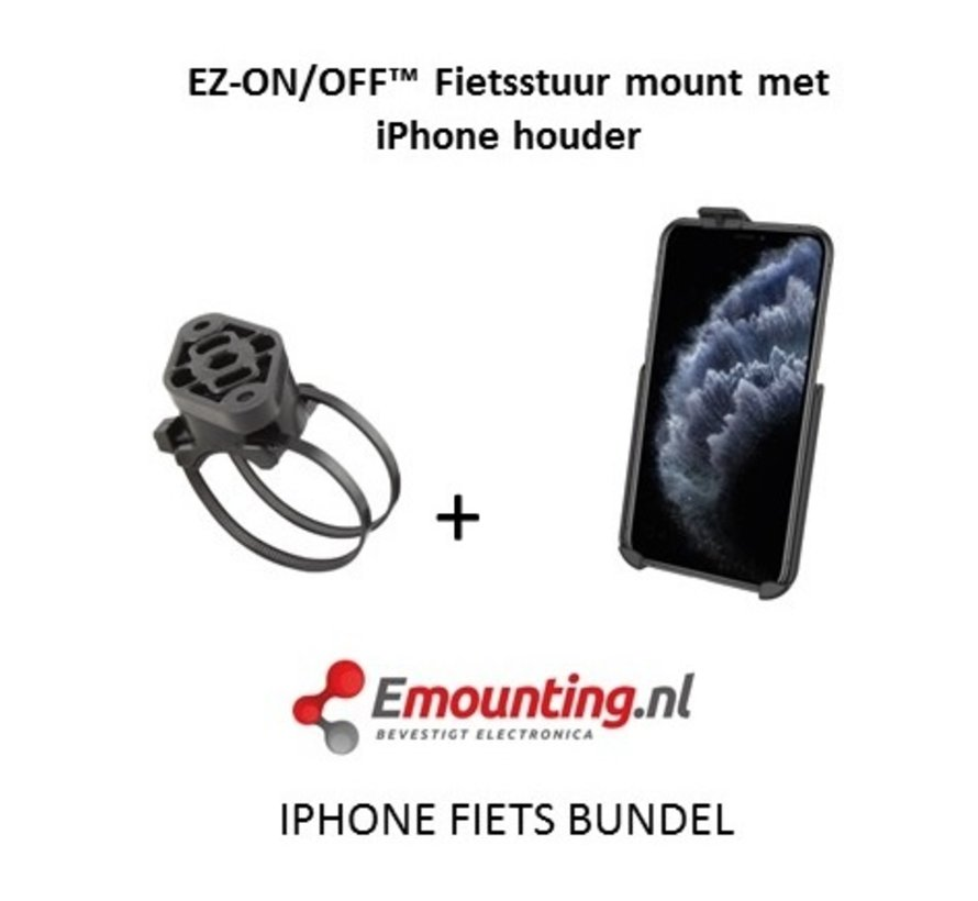 EZ-On/Off™ iPhone 11 PRO Fietsset RAP-274-1-AP29U
