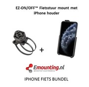 RAM Mount EZ-On/Off™ iPhone 11 PRO MAX Fietsset  RAP-274-1-AP30U