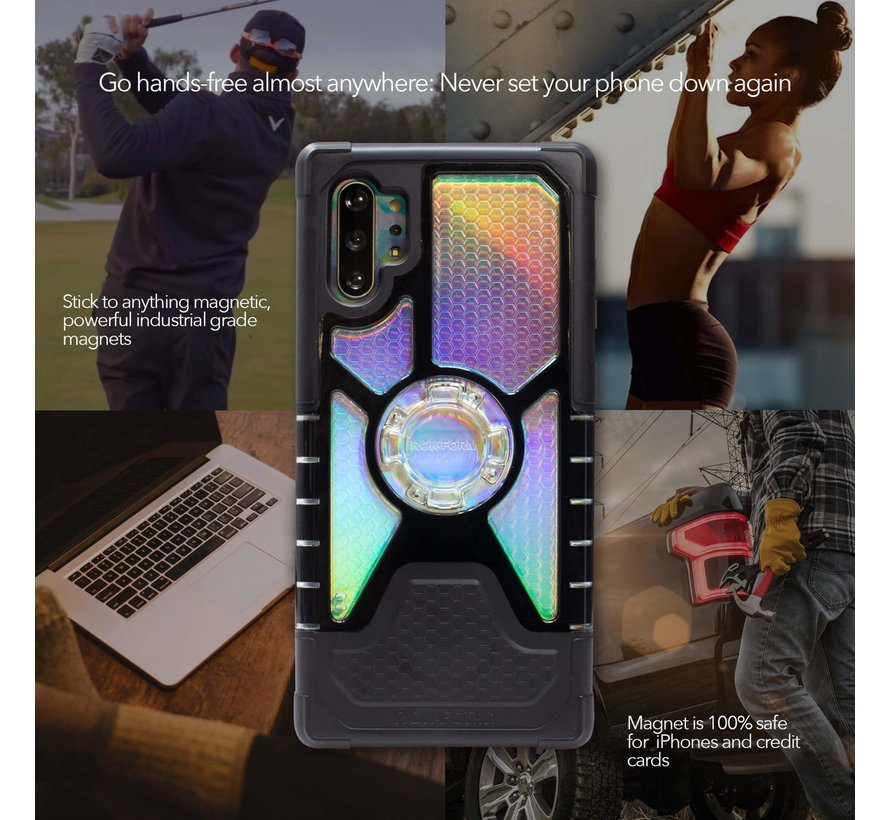 Galaxy Note 10+ Crystal Wireless Case
