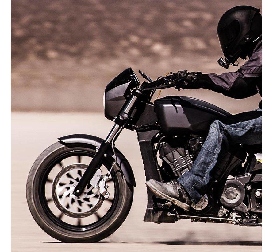Polished Alu Motorcycle Handlebar Mount voor Rokform case