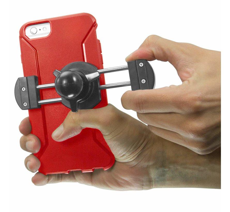 Roadvise XL universele smartphone houder met stangklem