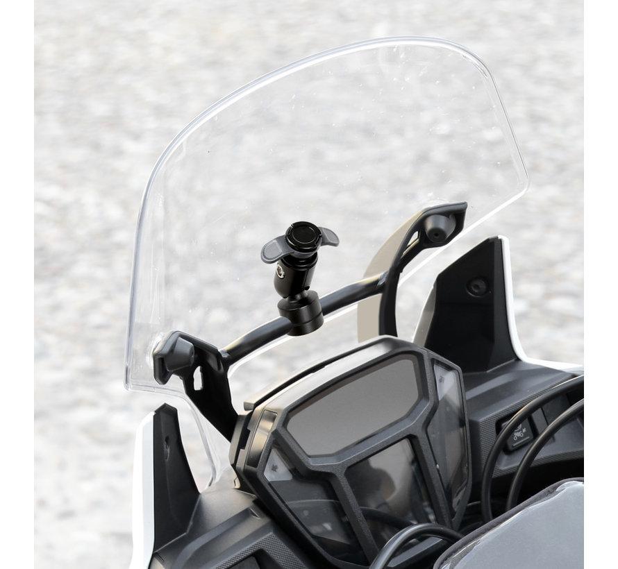 Opti-Line scooter windscherm  mount met universele smartphonehouder