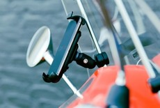 Scooter windscherm mount met universele smartphonehouder