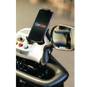 Lampa Opti-Line Scootmobiel  mount met  universele smartphonehouder