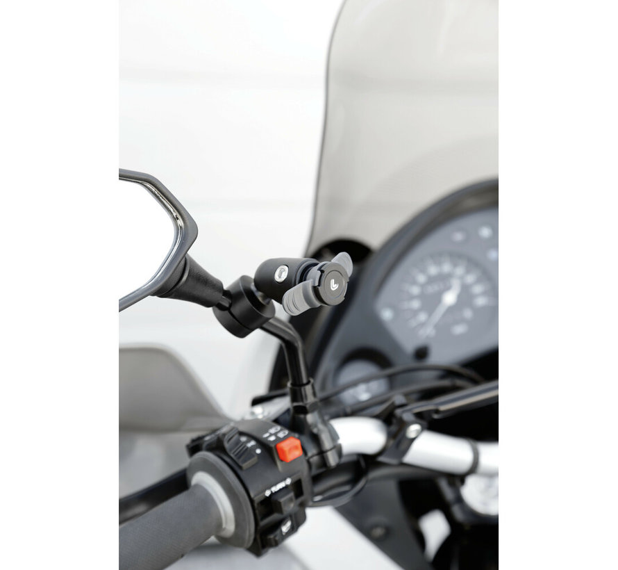 Opti-Mirror DUO LOCK bevestiging scooterspiegel