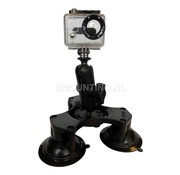 RAM Mount Triple Suction GoPro montageset RAP-B-365-224-GOP1U