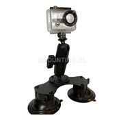 RAM Mount Double Suction GoPro montageset RAM-B-189B-GOP1U