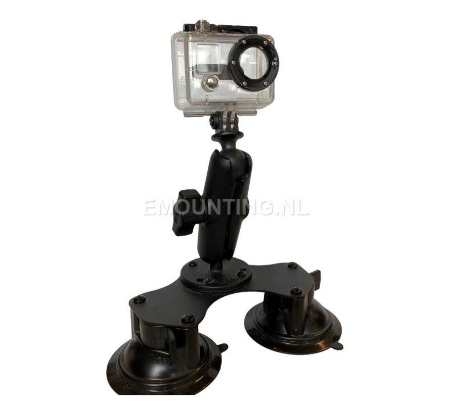 Double Suction GoPro montageset RAM-B-189B-GOP1U